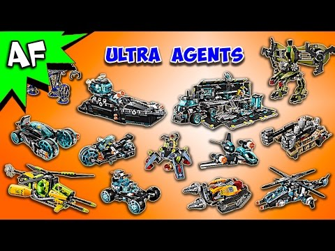 Every Lego ULTRA AGENTS Set - Complete Collection!