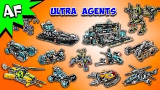 Every Lego ULTRA AGENTS Set Complete Collection