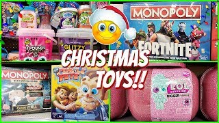 WALMART CHRISTMAS TOYS PIMPLE PETE BABY ALIVE BUBBLEEZZ 2018