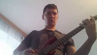 Morphogenesis guitar cover Scar Symmetry with solos
