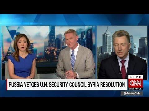 Russia vetoes U.N. resolution on Syria