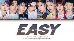 "Stray Kids ""Easy"" (Color Coded Lyrics Eng/Rom/Han/가사)"