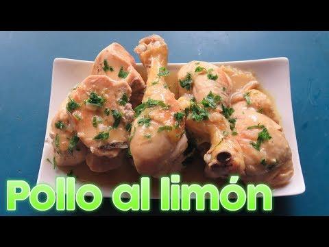 Pollo al limón | Mi estilo | Cocinando con Marilin