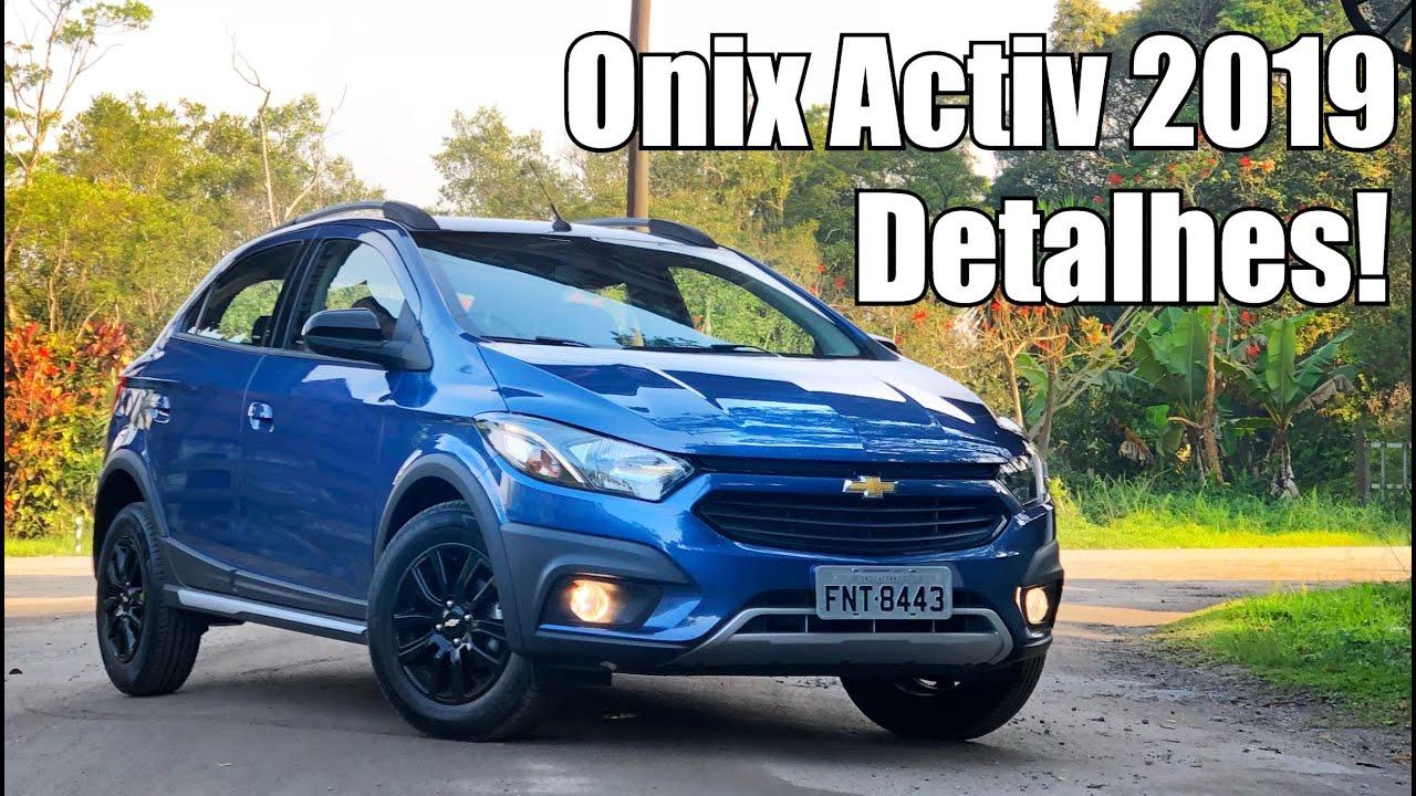 Chevrolet Onix Activ 2019 Em Detalhes Falando De Carro Youtube