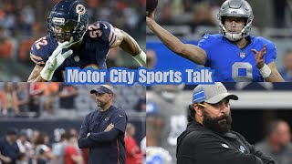 (Preview/Prediction) Chicago Bears vs Detroit Lions | Week # 12 Thanksgiving 2018
