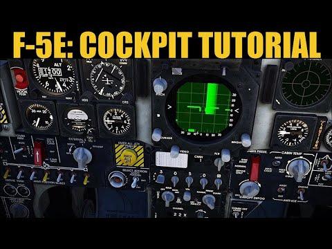 F-5E Tiger II: Cockpit Explained | DCS WORLD