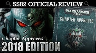 *NEW* Chapter Approved 2018 REVIEW + ALL POINTS CHANGES! Warhammer 40K 8th Edition
