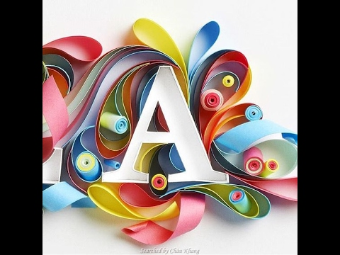 hqdefault Quilling Letter B Template on