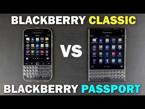 BlackBerry Classic Vs BlackBerry Passport Full Comparison