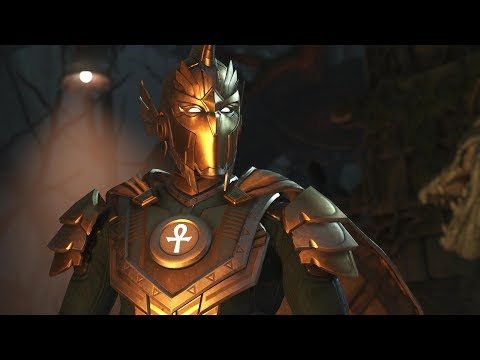 Injustice 2 : Doctor Fate Vs Atrocitus - All Intro/Outros, Clash Dialogues, Super Moves