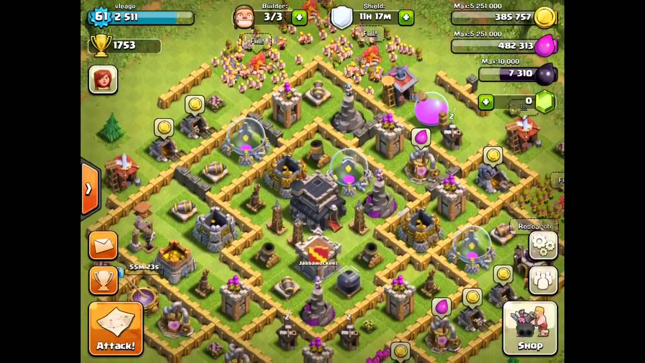 clash of clan camps