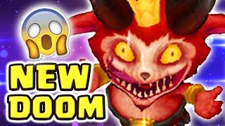 THE CRAZIEST GAME MODE EVER MADE NEW DOOM BOTS | LITTLE DEVIL TEEMO SKIN SPOTLIGHT - Nightblue3