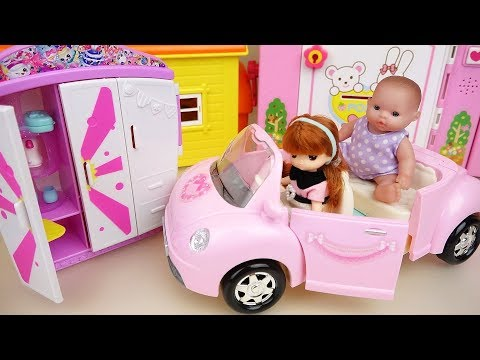 Baby doll closet house and food shop play