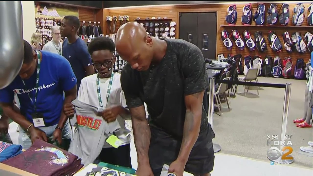 Ryan Shazier Surprises Group Of Student Athletes