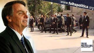 AGORA: Veja imagens da saída do presidente Bolsonaro de hospital