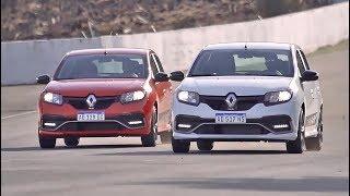 Conducción en pista con Sandero RS y Leonel Pernía - Informe - Matías Antico - TN Autos