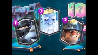 CLASH ROYALE - ROYAL GHOST DECK FROM LEGENDARY KING'S CHEST