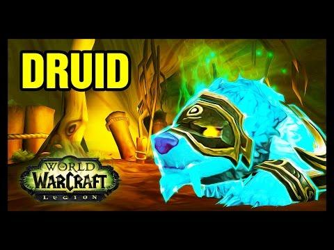 Restoration Druid Artifact Scenario