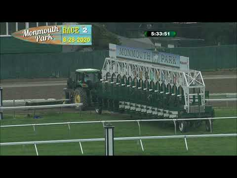 video thumbnail for MONMOUTH PARK 08-28-20 RACE 2