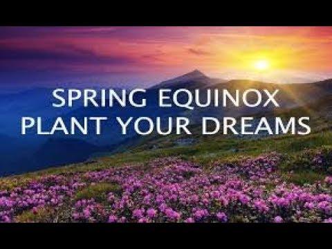 HAPPY SPRING EQUINOX!