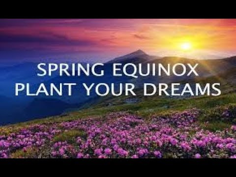 HAPPY SPRING EQUINOX!