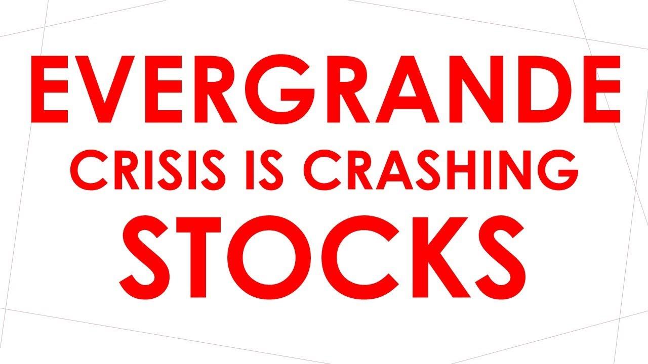 Stock Meltdown Begins Over Fears Evergrande is Just the Beginning