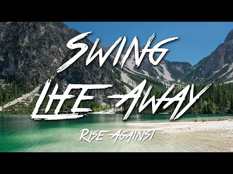 Swing Life Away  Rise Against Lyrics HD
