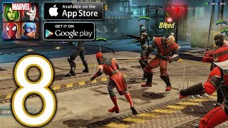 MARVEL Strike Force Heroes Android iOS Walkthrough - Part 8 - Event: Elektra Assassin