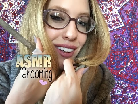 ASMR COMPLETE GROOMING (Nails, Brows, Face Massage, Hand Massage, Haircut)