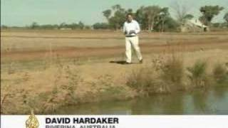Australia's drought-stricken rice fields - 23 April 2008