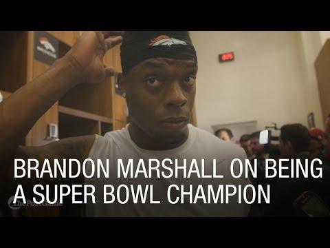 Broncos LB Brandon Marshall on Being a Super Bowl Champion