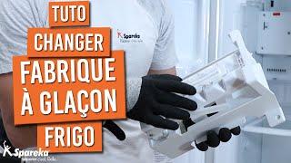 Comment changer le distributeur à glaçon d'un frigo américain