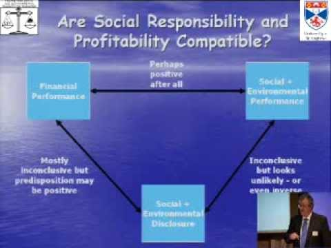Does sustainability reporting and improve corporate behaviour? Wrong Question? Right time