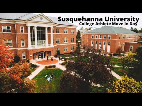 College Athlete Move In Day | Susquehanna University