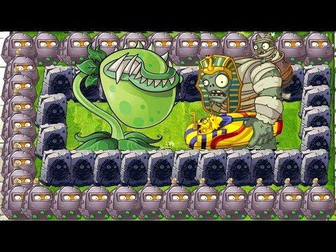 Plants Vs Zombies 2: Mod Chomper Vs All Wall Nut  Vs Gargantuar Zomboss