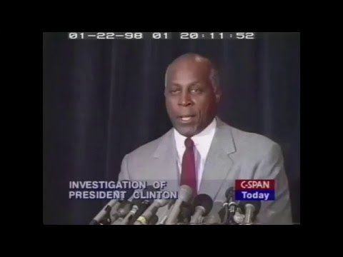"Vernon Jordan: ""I did two things for Miss Monica Lewinsky"" (1998)"
