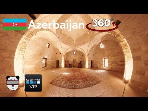 🌍360° GoPro Omni VR: Royal Mosque | Baku, Azerbaijan 🇦🇿