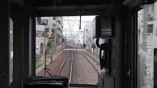 【前面展望】東武東上線10030系「急行小川町駅行き 始発の池袋駅出発」