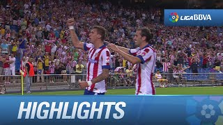 Resumen de Atlético de Madrid (2-1) SD Eibar - HD