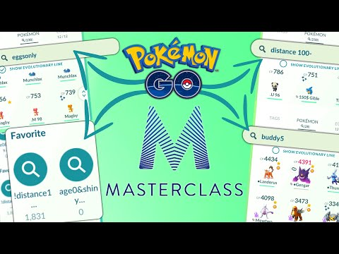*SEARCH STRINGS* MASTER CLASS in POKEMON GO | EVERYTHING YOU NEED TO KNOW!