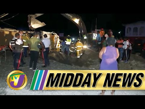 Woman Trapped Under a Truck  Load of Sand Survived | Tropical Storm Alert for Jamaica - July 2021