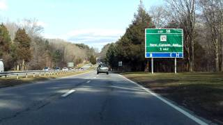 Merritt Parkway (Exits 35 to 40) northbound