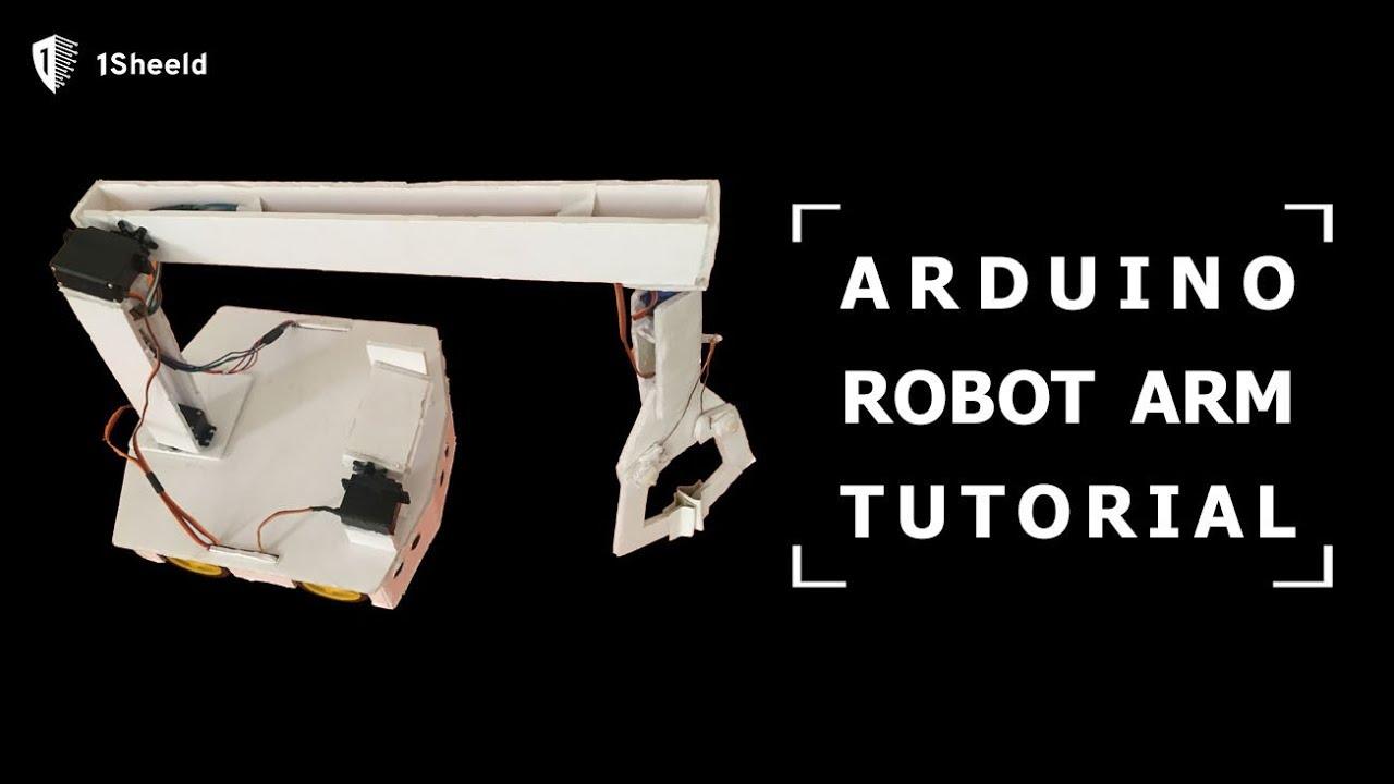 Arduino Robotics Series: from RC Car to Robotic Arm