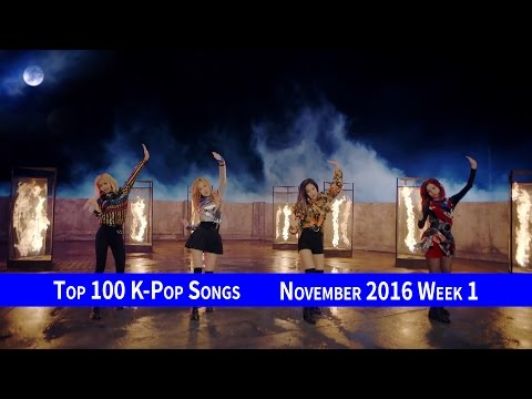 [TOP 100] K-POP SONGS CHART – NOVEMBER 2016 WEEK 1