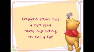 Little Black Rain Cloud Lyrics (Winnie the Pooh HD)