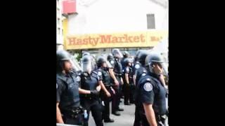 G20 Toronto Police VS The Kills Cheap and Cheerful Sebastian Remix