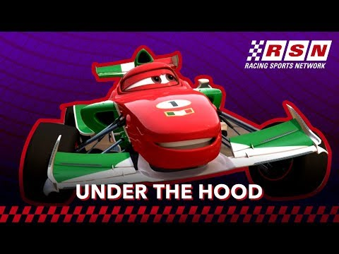 Under the Hood: Francesco Bernoulli | Racing Sports Network by Disney•Pixar