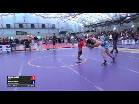 65 Round of 128 - Kizhan Clarke (DCAC) vs. Nathan Smith (Bison WC)