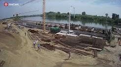 Izgradnja luke Slavonski Brod, time lapse - godina dana gradnje u dvije minute