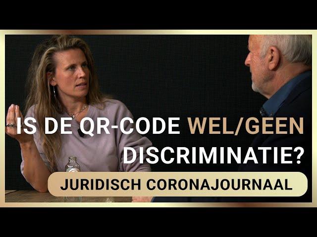 Is de QR-code wel/geen discriminatie? - Isa Kriens en Frank Stadermann